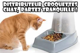 distributeur croquettes chat partez tranquille auberdog. Black Bedroom Furniture Sets. Home Design Ideas