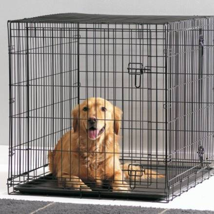 cage dog cottage 118 cm pour chien savic auberdog. Black Bedroom Furniture Sets. Home Design Ideas