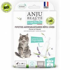 Pipettes antiparasitaires bio chat