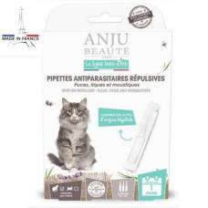 Pipettes antiparasitaires répulsives chat