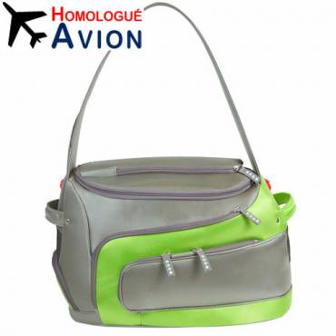 Sac Argo Duff-O vert pour chat - 1