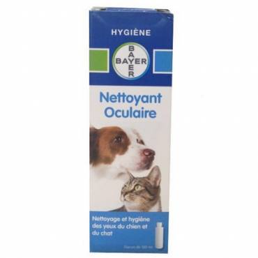 Nettoyant des yeux Bayer pour chat - Bayer