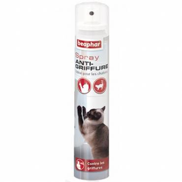 Spray anti-griffure pour chat pour chat - Beaphar - Arbre à chat et griffoir