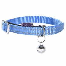 Collier chat Safe bleu