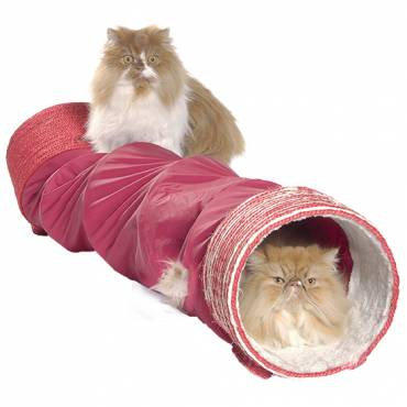Tunnel griffoir pour chat - Bobby