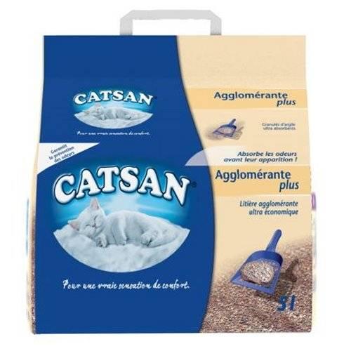 litiere chat agglomerante