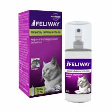 Spray Feliway transport