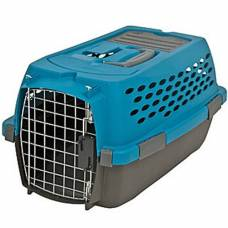 Cage de transport Kennel Cab bleu Small
