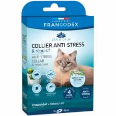 Collier anti stress et répulsif chat chaton