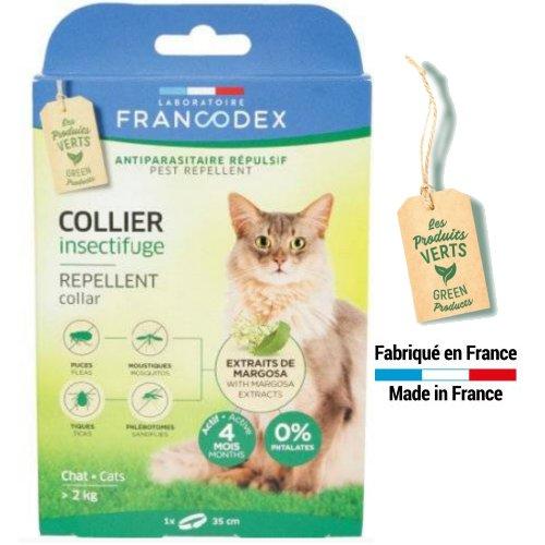 collier chat protege oiseaux