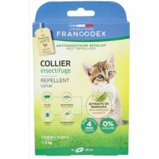 Collier insectifuge chaton