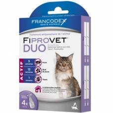 Fiprovet Duo pipette chat