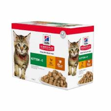 Sachet chaton Multipack Poulet & Dinde