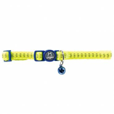 Collier Turin jaune pour chat - Hunter
