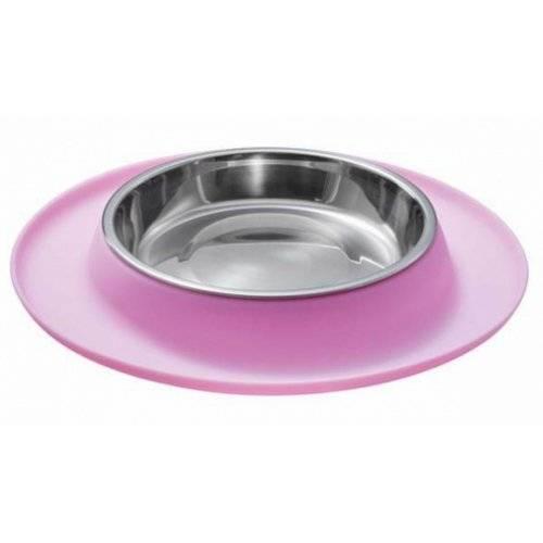 gamelle en silicone rose pour chat hunter auberdog. Black Bedroom Furniture Sets. Home Design Ideas