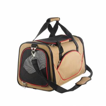 Sac de transport Kansas beige pour chien - Hunter - Transport du chat