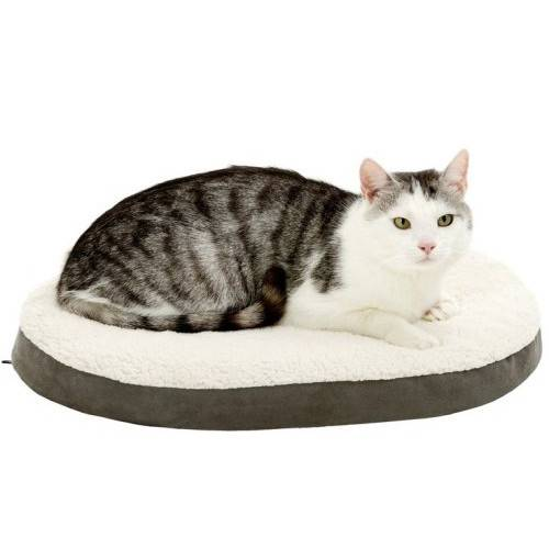 Coussin orthobed pour chat pour chat karlie auberdog - Letto karlie orthobed ovale ...
