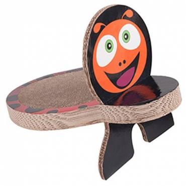griffoir carton lady bug pour chat karlie auberdog. Black Bedroom Furniture Sets. Home Design Ideas