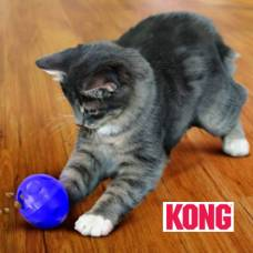 Balle chat Active kong violette