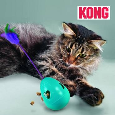 Jouet chat Kong Infused Tippin Treat  pour chat - Kong - Jouet pour chat