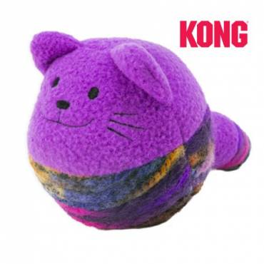 Balle Kong chat Yarnimals  pour chat - Kong - Jouet pour chat