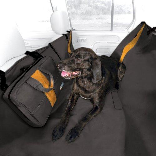 Protection si ges voiture wander hammock noir pour chien for Housse protection siege voiture pour chien