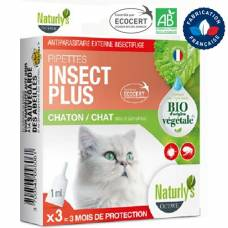 Pipette Insect Plus Chat et Chaton