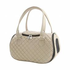 Sac de transport Navy beige