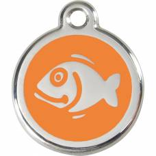 Médaille RedDingo Poisson orange