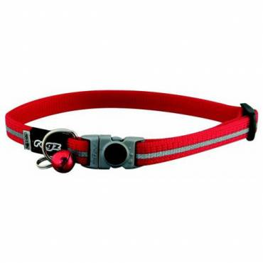 Collier AlleyCat rouge pour chat - Rogz