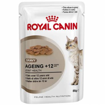 Ageing +12 en sauce pour chat - Royal Canin