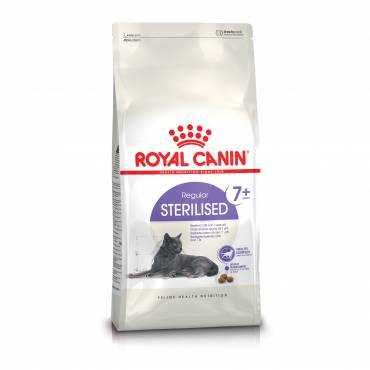 croquettes sterilised 7 pour chat royal canin auberdog. Black Bedroom Furniture Sets. Home Design Ideas