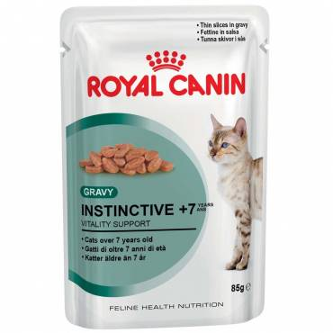 Instinctive +7 en sauce pour chat - Royal Canin