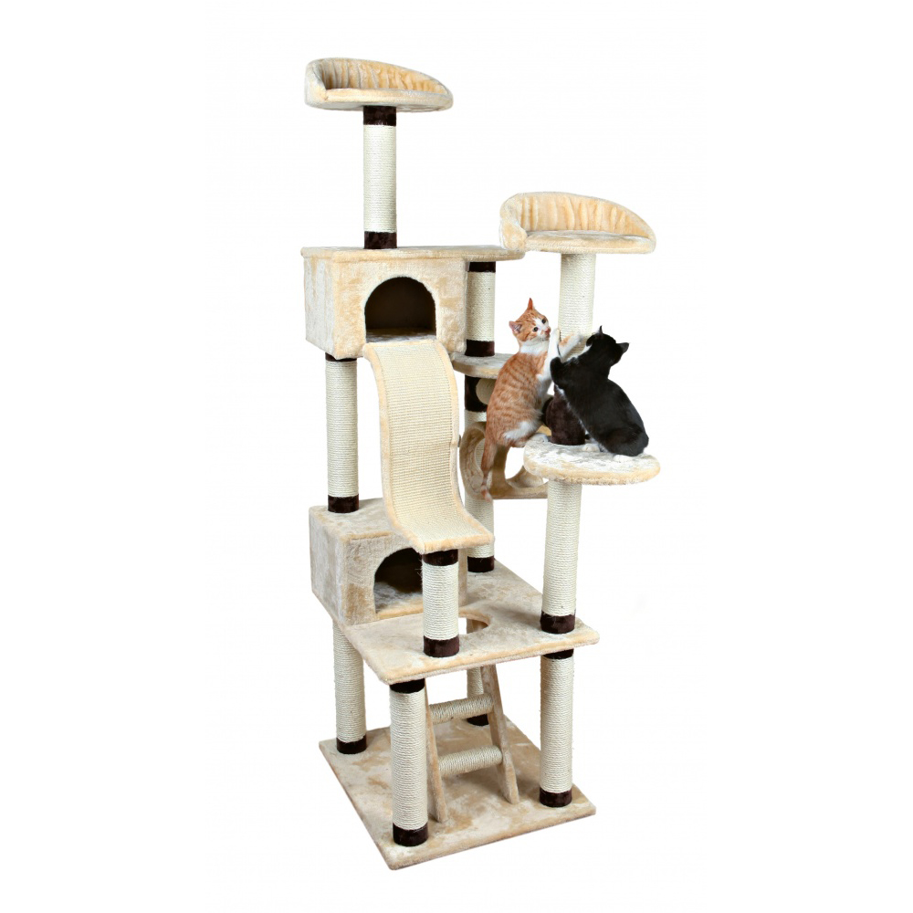 arbre chat g ant adiva pour chat trixie auberdog. Black Bedroom Furniture Sets. Home Design Ideas