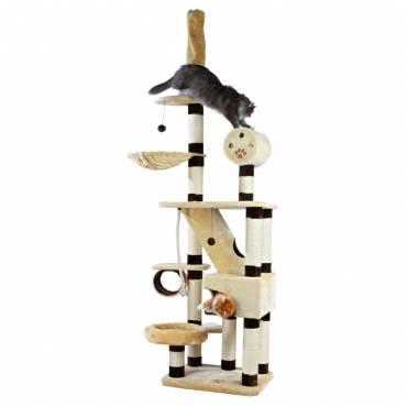 arbre chat g ant belorado pour chat trixie auberdog. Black Bedroom Furniture Sets. Home Design Ideas