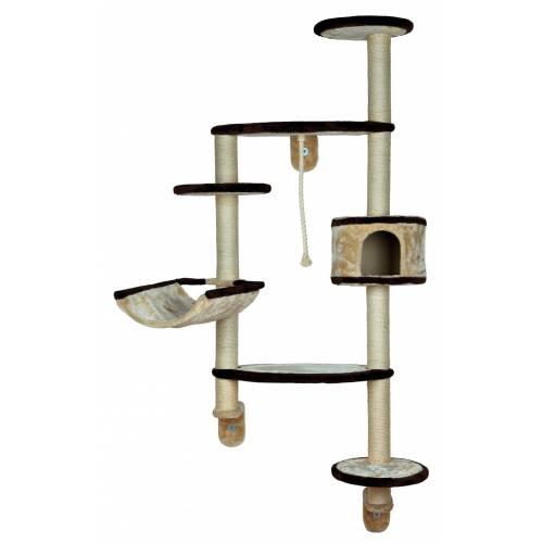 arbre chat mural francesco pour chat trixie auberdog. Black Bedroom Furniture Sets. Home Design Ideas