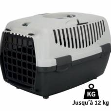 Cage de transport chat Capri gris