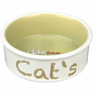 Gamelle Cat's beige pour chat - Trixie