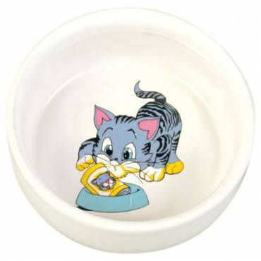 Gamelle Chat gris pour chat - Trixie