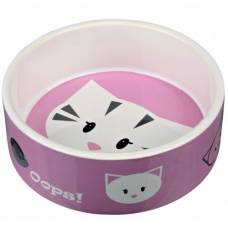 Gamelle pour chat Mimi - rose