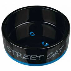 Gamelle Street cat bleu