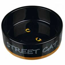 Gamelle Street cat orange