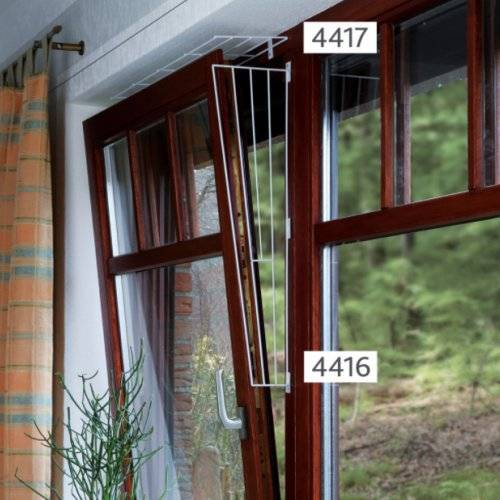 Grille De Protection Métal Et Latéral Pour Fenêtre Pour Chat