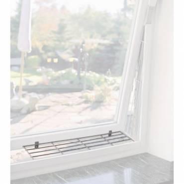 grille de protection m tal haut bas pour fen tre pour chat trixie auberdog. Black Bedroom Furniture Sets. Home Design Ideas