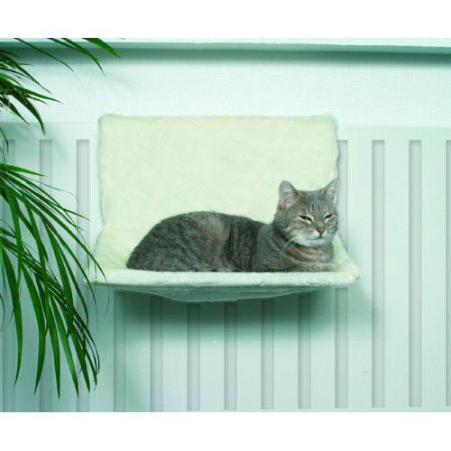 hamac radiateur blanc pour chat trixie auberdog. Black Bedroom Furniture Sets. Home Design Ideas
