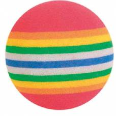 Lot de 4 balles arc en ciel