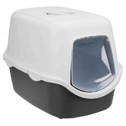 Maison De Toilette Vico Avec Couvercle Noir Pour Chat Trixie Auberdog