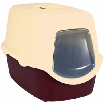 maison de toilette vico bordeaux pour chat trixie auberdog. Black Bedroom Furniture Sets. Home Design Ideas