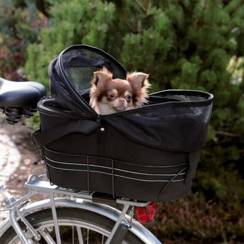 panier transport v lo friends pour chien trixie auberdog. Black Bedroom Furniture Sets. Home Design Ideas