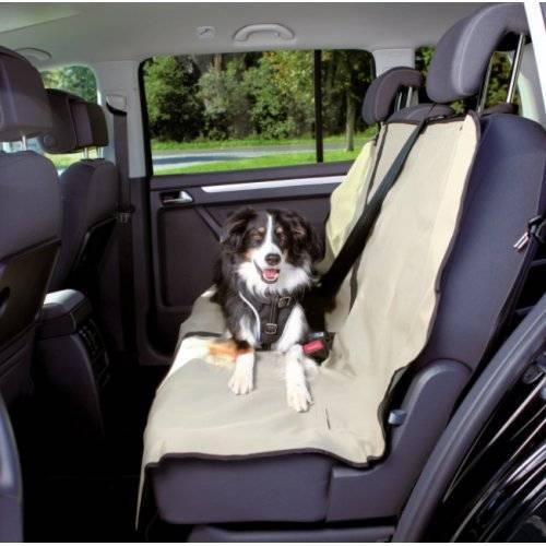 housse de protection si ge voiture beige pour chien trixie auberdog. Black Bedroom Furniture Sets. Home Design Ideas